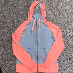Nike Therma Fit zip up hoodie